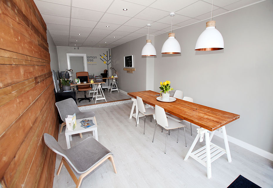 Lemontree Lettings Office Interior